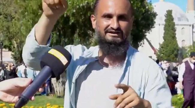 """Ayasofya'da Atatürk'e çirkin sözler… """"Bugün o kemikleri sokağa attık"""""""