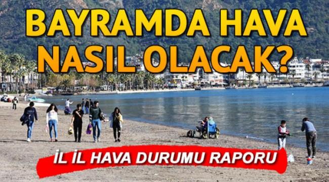Bayramda hava nasıl olacak 2020? Meteoroloji duyurdu: İstanbul, Ankara İzmir 31 Temmuz 3 Ağustos hava durumu tahminleri