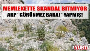 CHP heyeti, AKP'nin 2017'de ''temelini attık'' dediği barajı, tüm çabalarına rağmen yerinde bulamadı