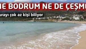 Türkiye'de Öyle bir yer keşfedildi ki Ne Çeşme Ne Bodrum değil çok başka..