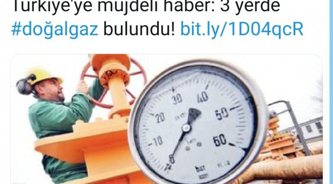 İşte AKP döneminde defalarca verilen 'Doğalgaz bulduk' haberleri