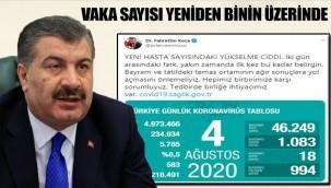 Türkiye'de koronavirüs nedeniyle hayatını kaybedenlerin sayısı 5 bin 765'e yükseldi