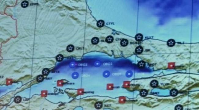 İstanbul fayında anormallik