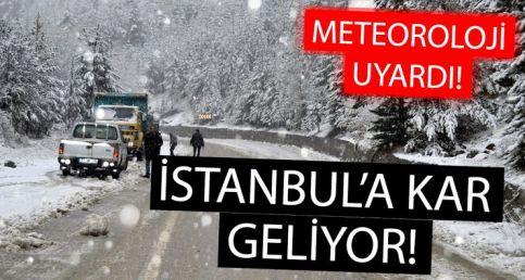 Meteorolojiden kar yağışı uyarısı geldi! İstanbul'a kar ne zaman yağacak?
