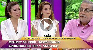 Mehmet Ali Erbil ilk kez anlattı: Yürüyemeyeceksem fişimi çekin!