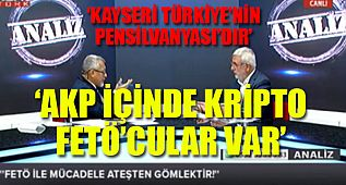 AKP'li Metiner'den FETÖ itirafları